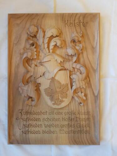 Nr: 6009 Relief Kirschbaumholz geölt