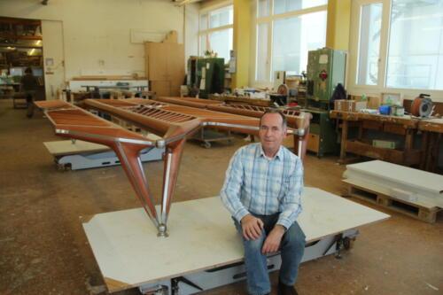 Flügeltisch Architekt Calatrava für Katar