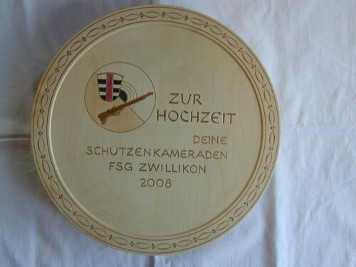 Nr: 3007 FSG Zwillikon Käseplatte