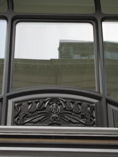 Jugendstil Fassade Fraumünsterstrasse Zürich