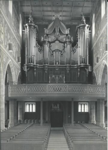 Krone Stadtkirche Winterthur 1988