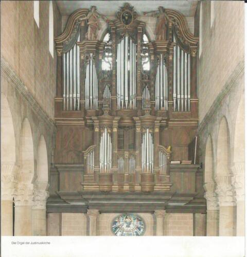 Orgelrestauration Frankfurt D
