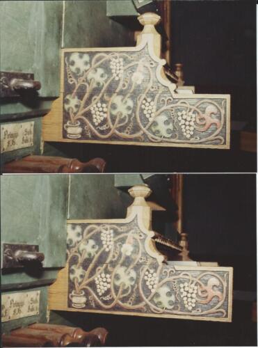 Spieltisch veschiebbares Ornament Kiedrich D