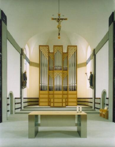 Moderne Orgel Oberegg AI