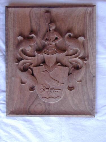 Nr: 6013 Relief Nussbaumholz