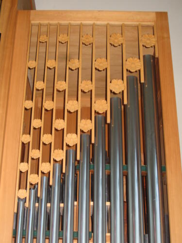 Orgel Wasterkingen Detail ZH